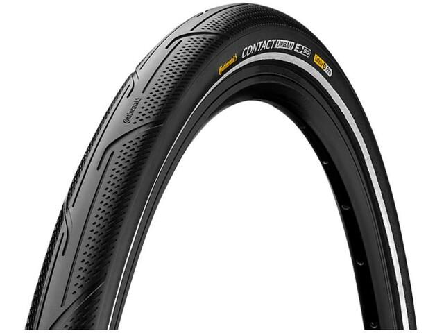 "Continental Contact Urban Clincher Tyre 28x1.75"" Reflex E-50 SafetyPro, zwart"